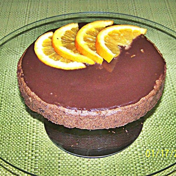 Ciasto czekoladowe z pomarańczą