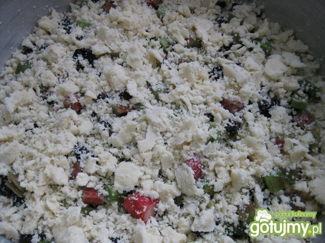 Ciasto drożdżowe na oleju (z owocami)
