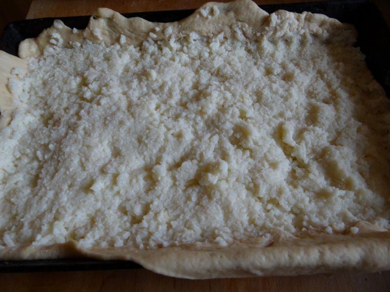 Ciasto drożdżowe z ryżem
