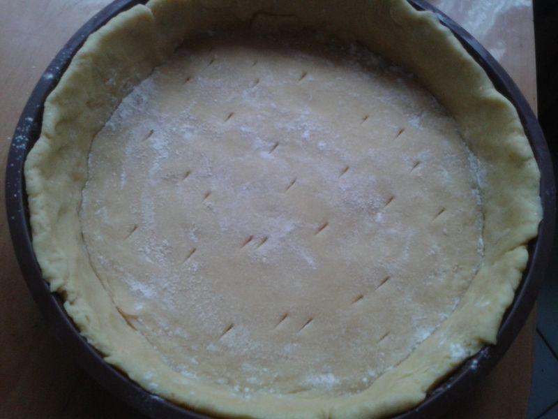Ciasto gruszkowe z orzechową kruszonką