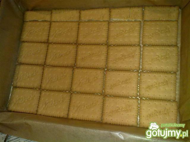 Ciasto grysikowe z malinami i galaretką