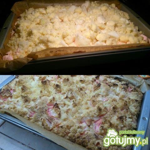 Ciasto jabłkowo gruszkowe