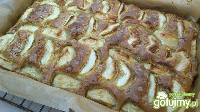 Ciasto jabłkowo śmietankowe
