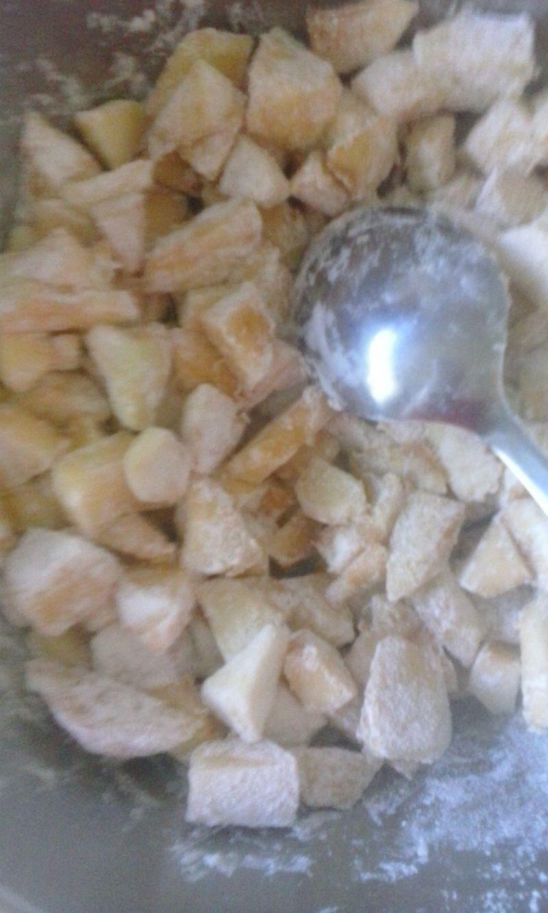 Ciasto kakaowe z jabłkami