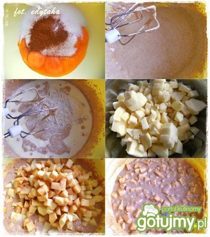 Ciasto kruche z jabłkami i bezą