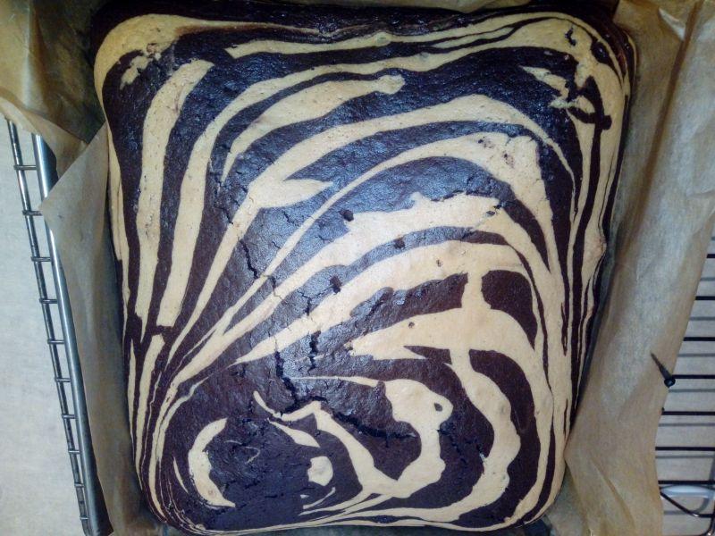 Ciasto marmurkowe/zebra