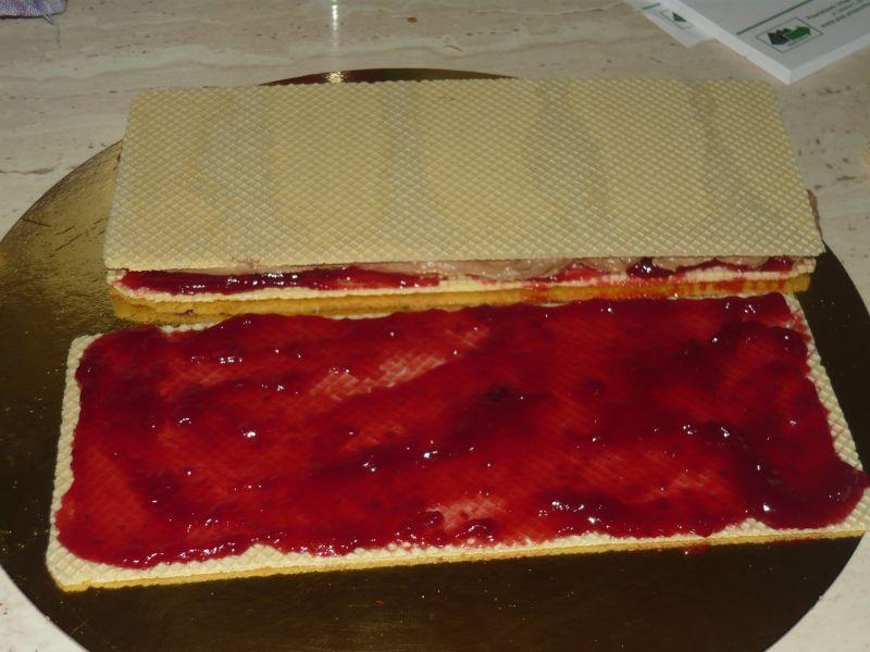 Ciasto na herbatnikach  bez pieczenia