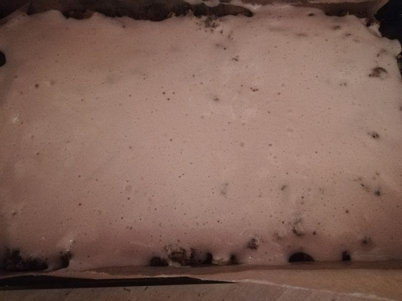 Ciasto pleśniak z rabarbarem