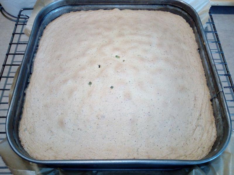 Ciasto pszczółka w galaretce