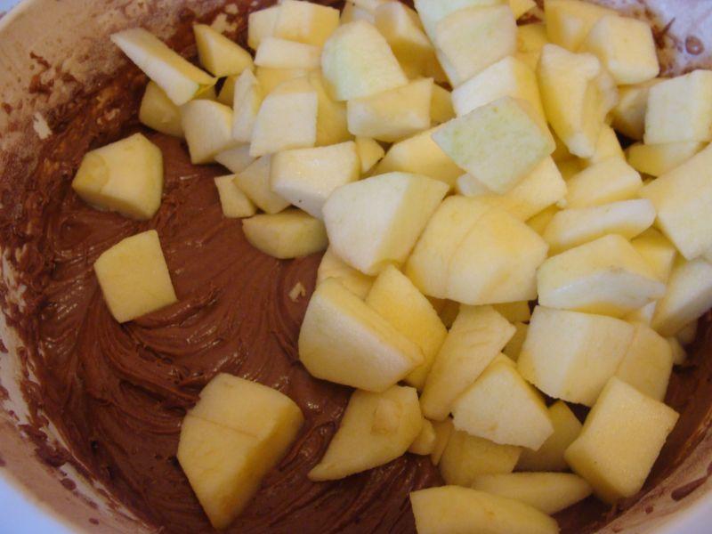 Ciasto salceson z gruszką