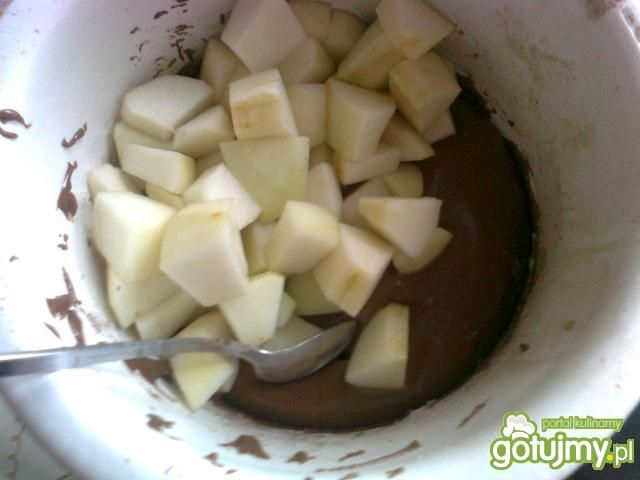 Ciasto salceson z gruszkami