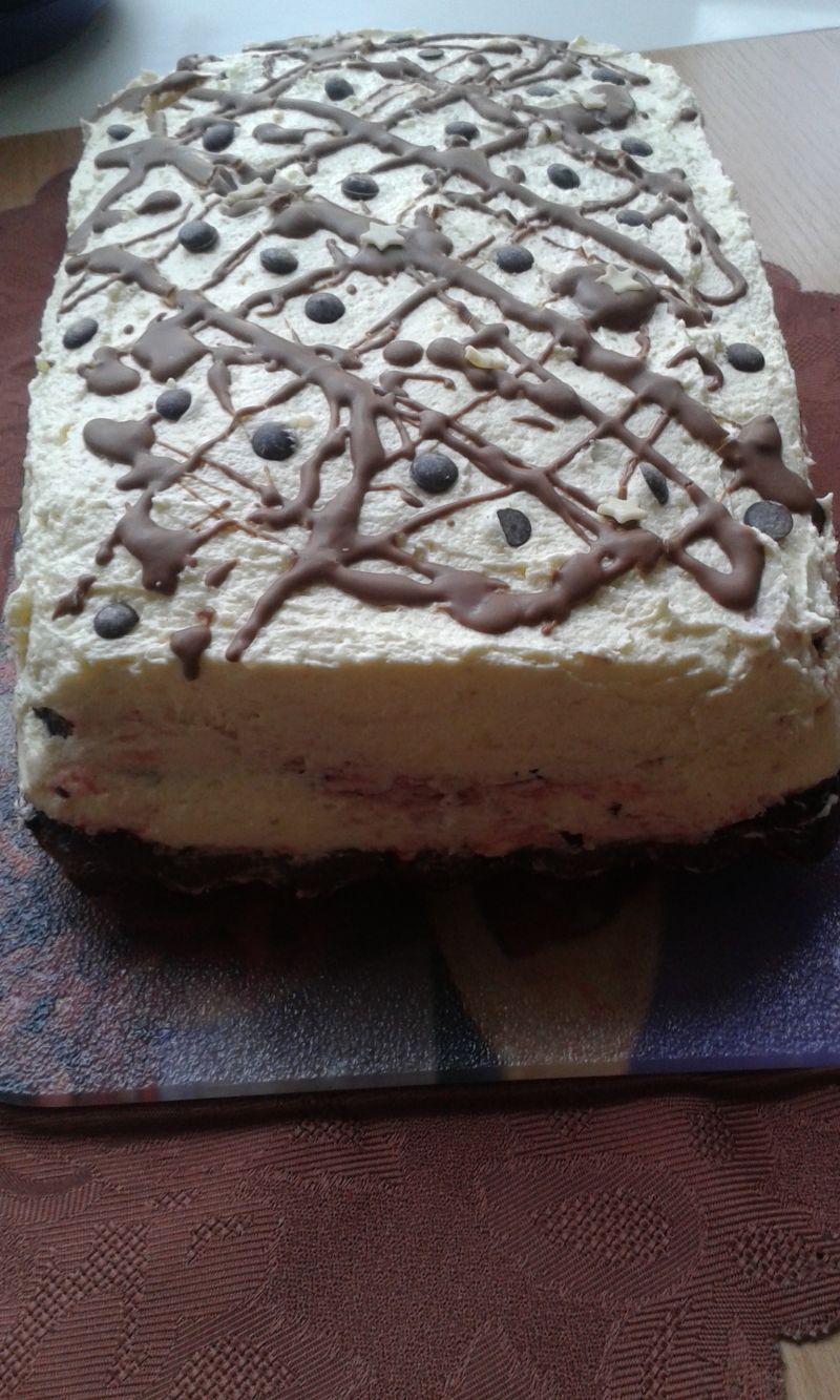 Ciasto trzy w jednym