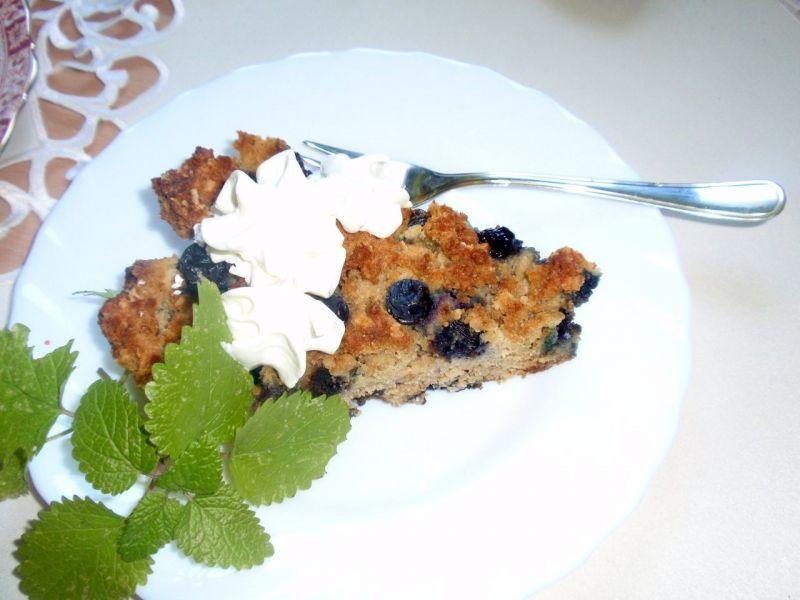 Ciasto z borówką amerykańską