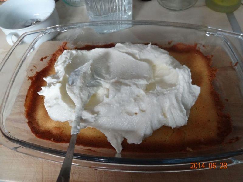Ciasto z czereśniami i wiśniami