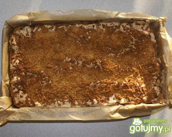 Ciasto z jabłkami i pianką kisielową