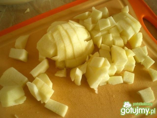 Ciasto z jabłkami z mikrofalówki