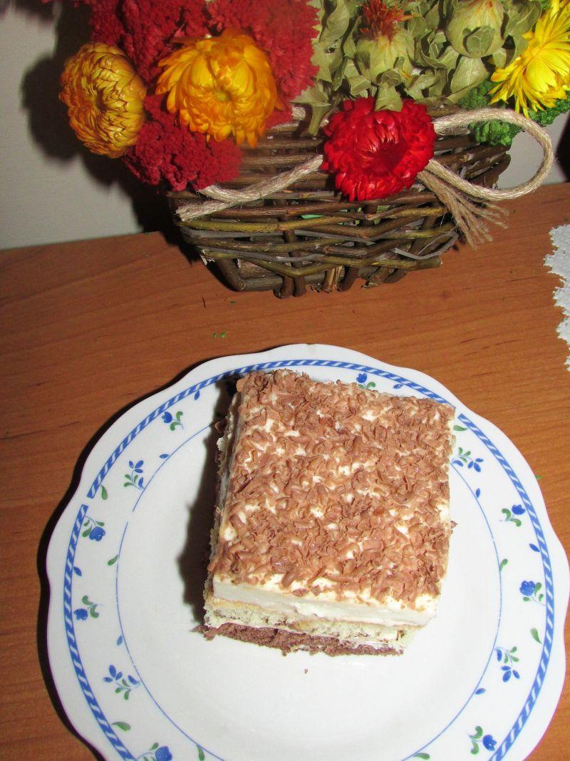 Ciasto z kremem nutella