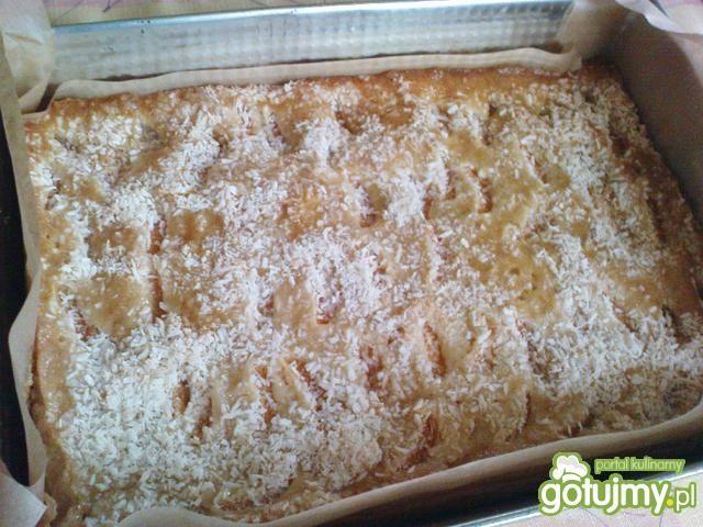 Ciasto z mandarynkami i kokosem