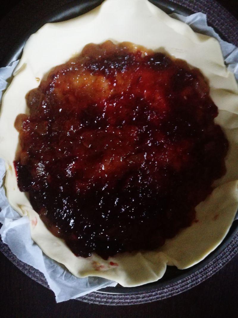Ciasto z powidłami z gruszek i imbiru