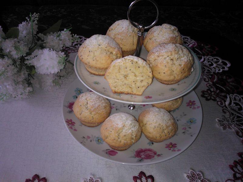 Cytrynowe muffinki z nasionami chia