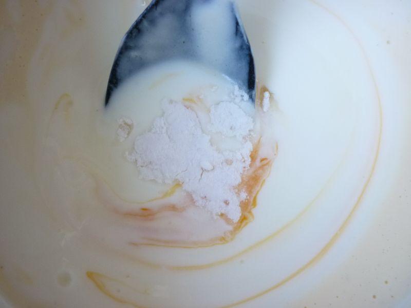 Cytrynowe racuchy z mirabelkami