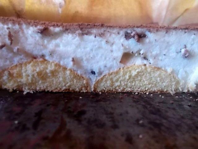 Cytrynowo - czekoladowa pianka na biszkoptach