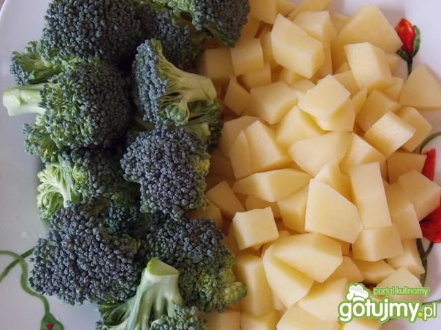 Delikatna zupka brokułowa
