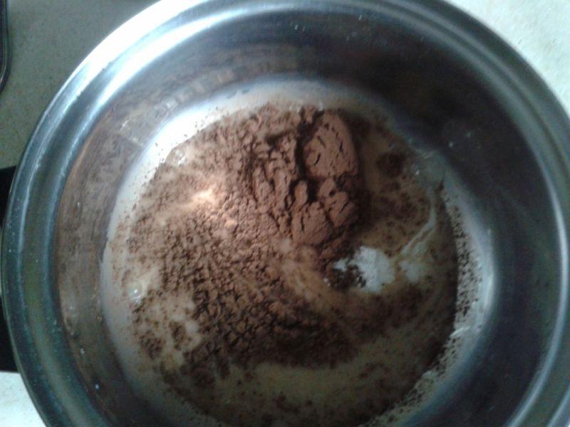 Deser czekoladowy w wersji light