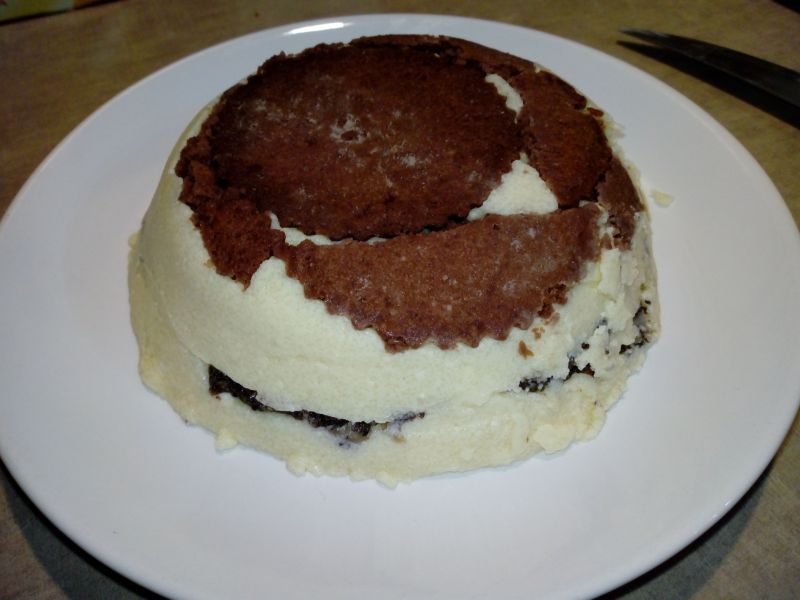 Deser serowo-makowy