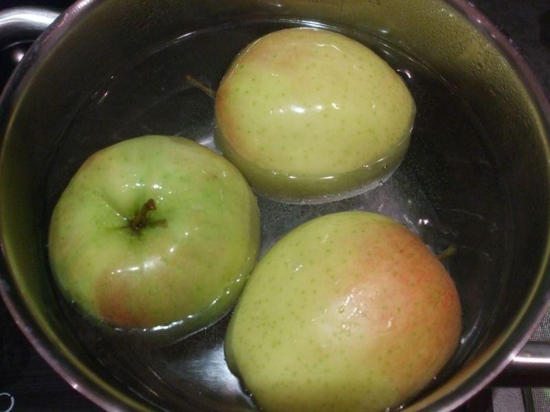 Deser z jabłek na zimno