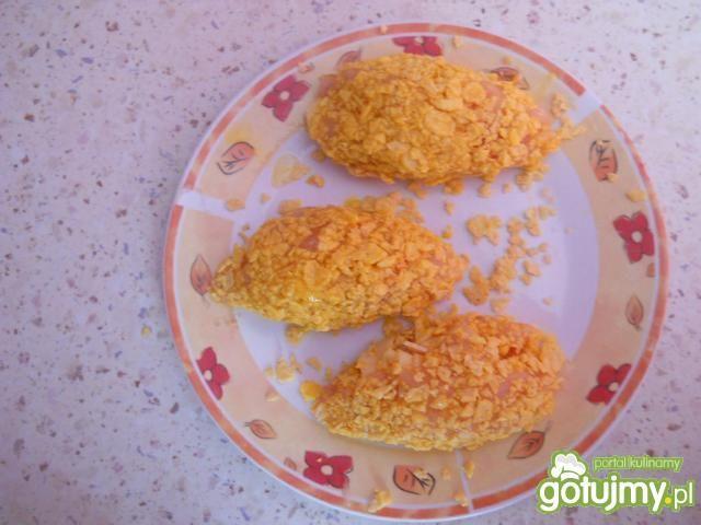 Dewolaje z szynką i serem