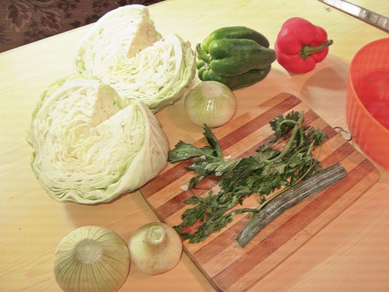 Dietetyczna zupa kapuściana