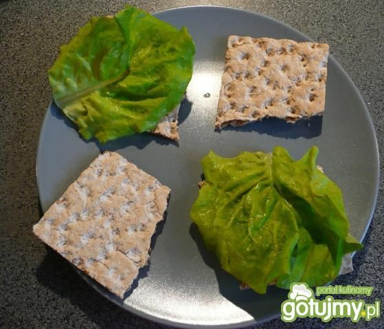 Dietetyczne kanapeczki z pastą jajeczną