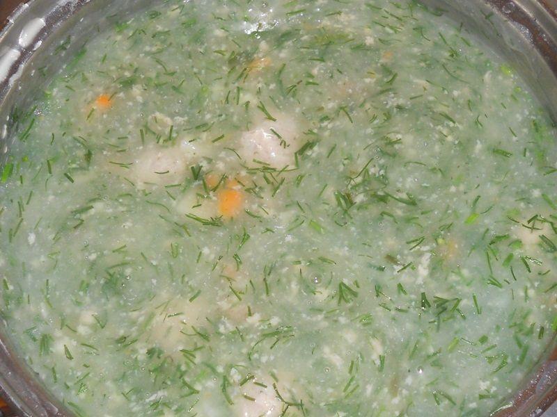 Dietetyczne pulpety w sosie koperkowym