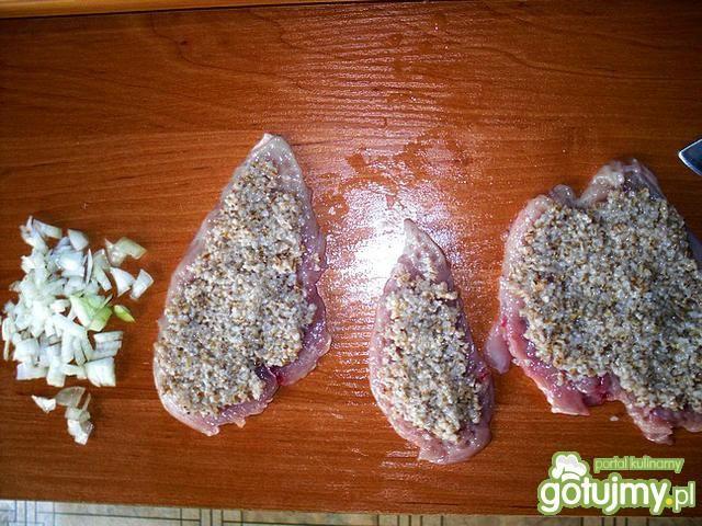 Dietetyczne roladki z kaszą jęczmienną