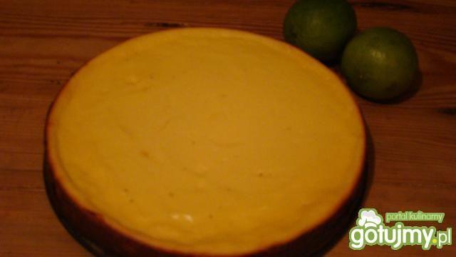 Dietetyczny sernik limonkowy