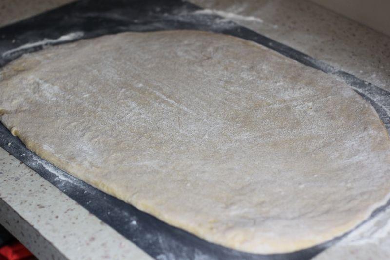 Domowa tortilla z farszem
