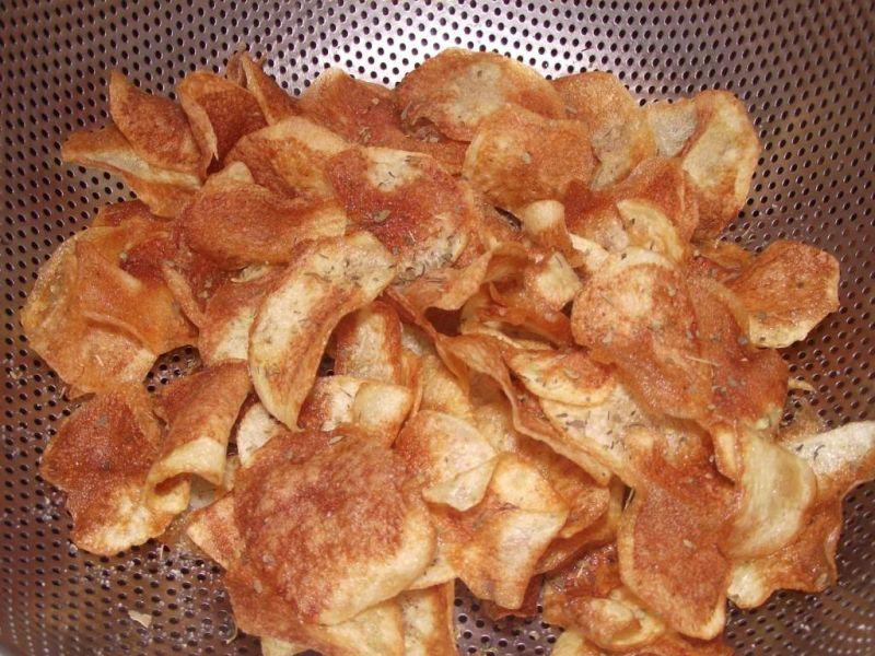 Domowe chipsy ziołowe
