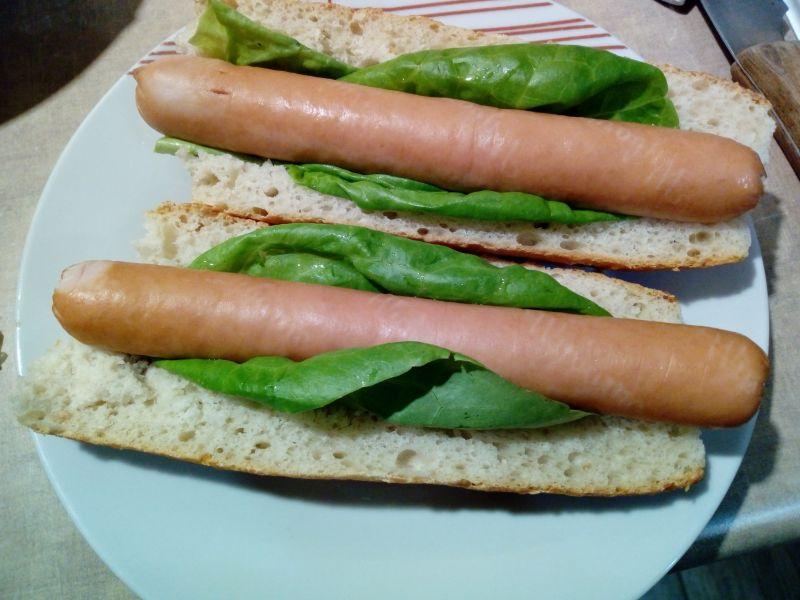 Domowe hot - dogi