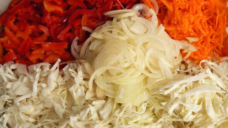 Domowej roboty sałatka babuni