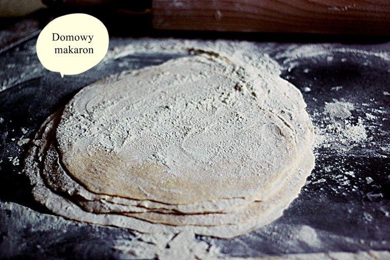 Domowy makaron- wersja do rosołu