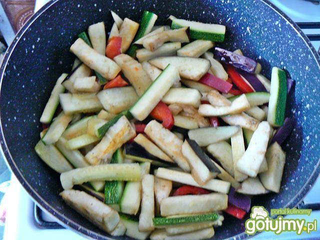 Dorsz z warzywami w sosie curry