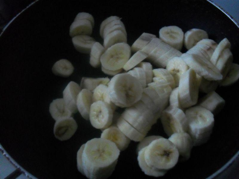 Dżem bananowy na zielonej herbacie