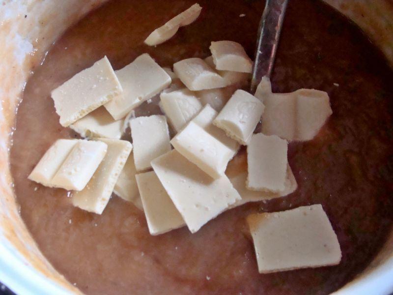 Dżemik brzoskwiniowo-czekoladowy