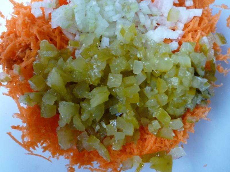 Ekspresowa surówka z marchewki
