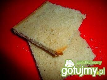 Ekspresowe grzanki na wczorajszym chlebk
