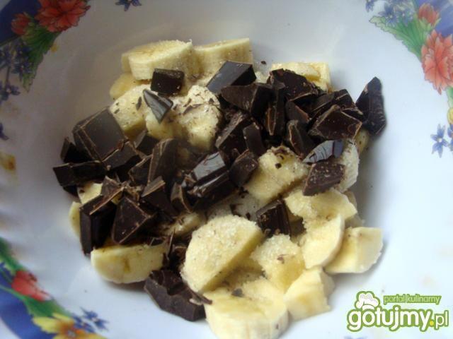 Empanady z czekoladą