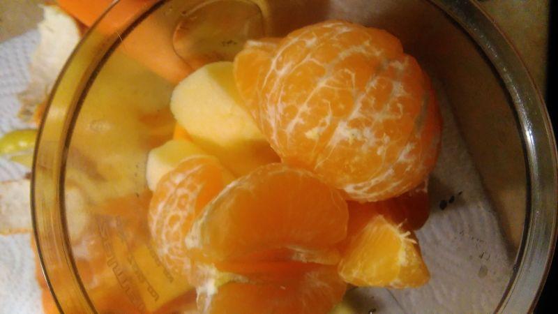 Energetyczny koktajl z owocami kaki