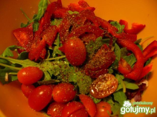 Expresowy mix z oliwkami