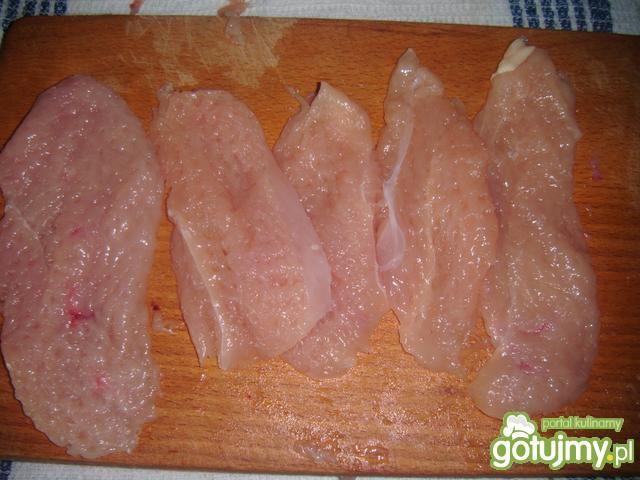 Filet z kurczaka + sałatka z kapusty